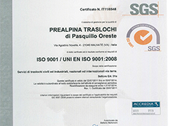 Certificazione 9001 - 2008